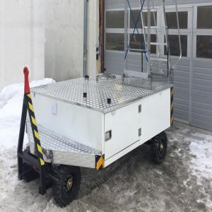 Cart for aircraft potable water supply